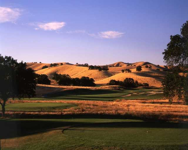 A view from tee #2 at Diablo Grande Golf & Country Club