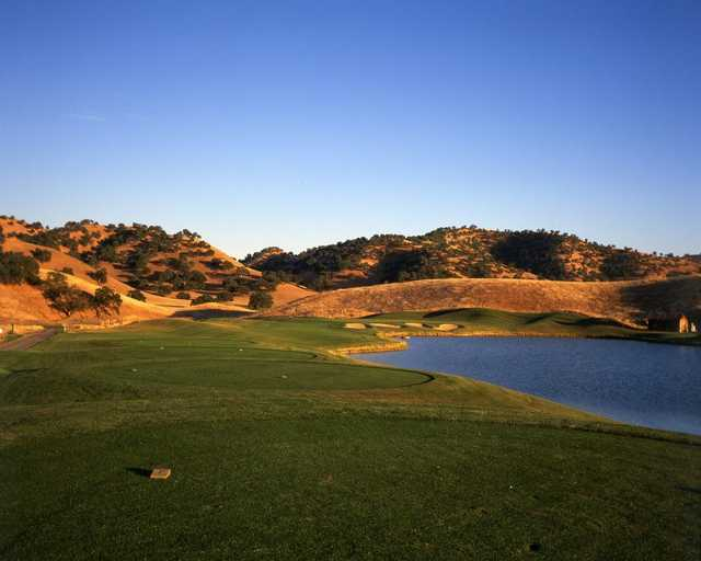 A view from the 11th tee from Diablo Grande Golf & Country Club