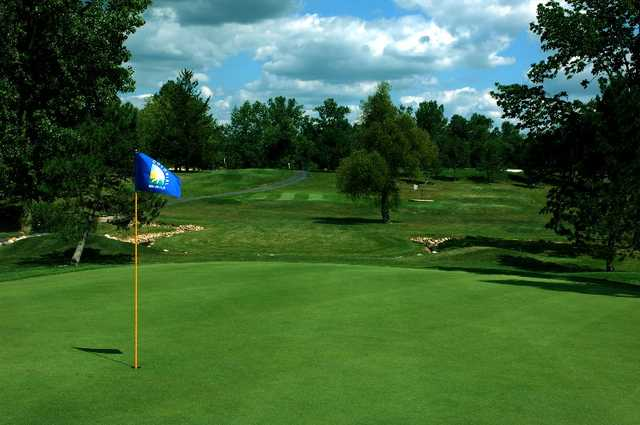 A view of a hole at Colonial Golfers Club