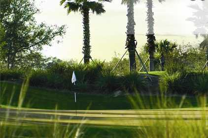 A view of a hole at River Strand Golf and Country Club.