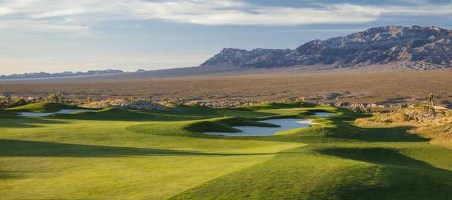 Sun Mountain at Las Vegas Paiute Golf Resort: View from #1
