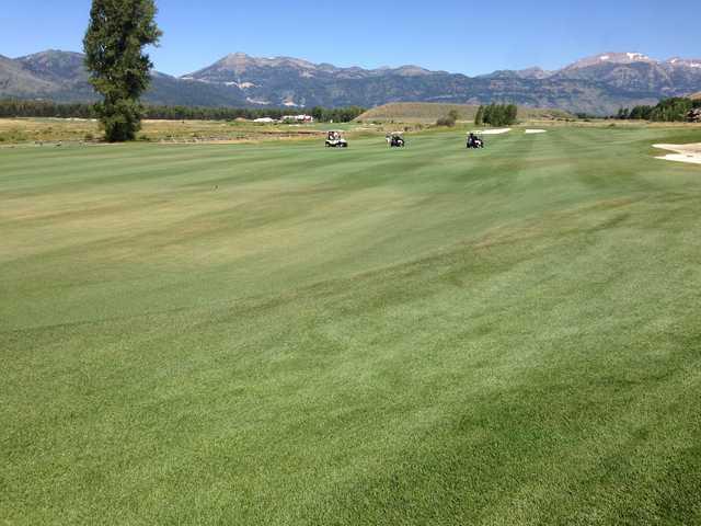 A view of a fairway at 3 Creek Ranch Golf Club