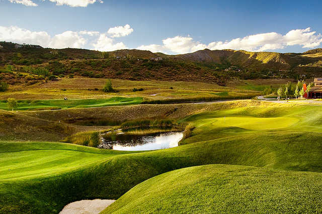 A view from Snowmass Club Golf Course