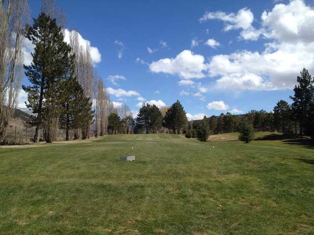 A view from a tee at Ranch from Roaring Fork Golf Course