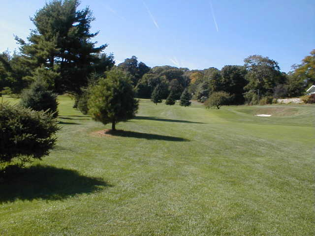 View of the 15th hole at Newton Commonwealth Golf Course