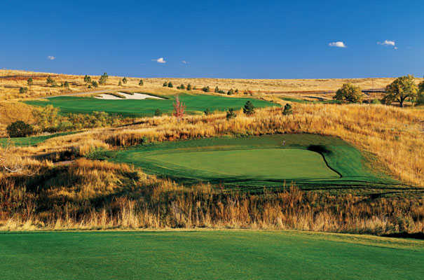 A view of a green at Blackstone Country Club