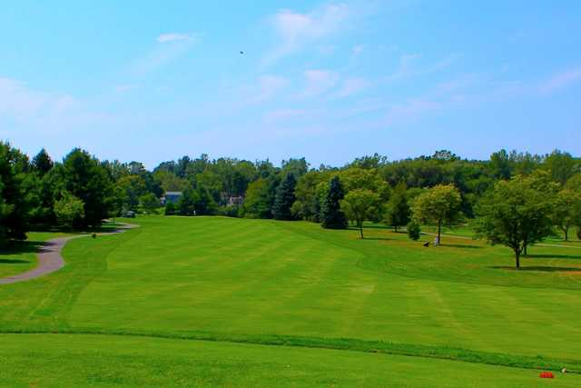 A view from a tee at Grassmere Country Club