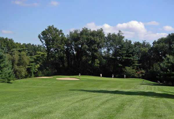 A view from the 2nd fairway at White from Stanley Golf Course