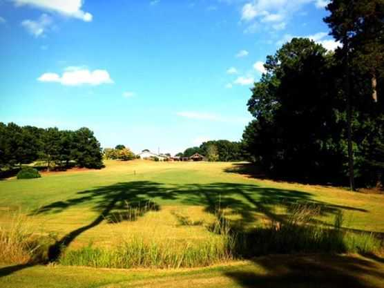 A view from tee #9 at Pebblebrook Golf Club