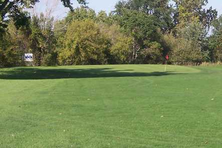 A view from a fairway at American Legion Memorial Golf Course