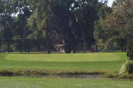 A view over the water from American Legion Memorial Golf Course