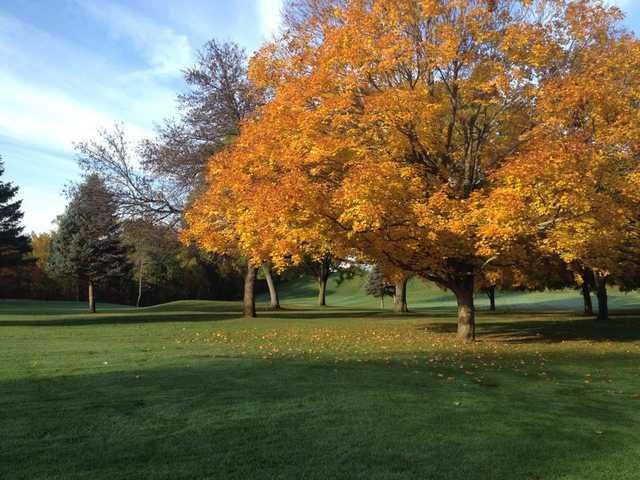 A fall view from Cedardell Golf Club
