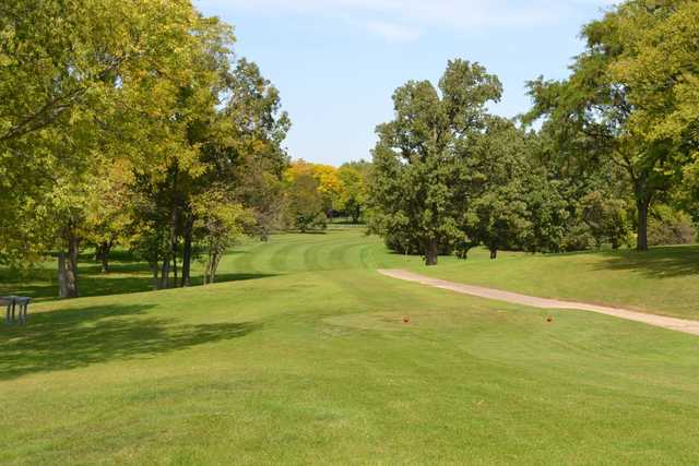 A view from a tee at Edgebrook Country Club
