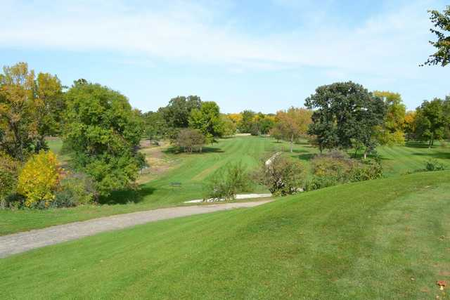 A view of a fairway at Edgebrook Country Club