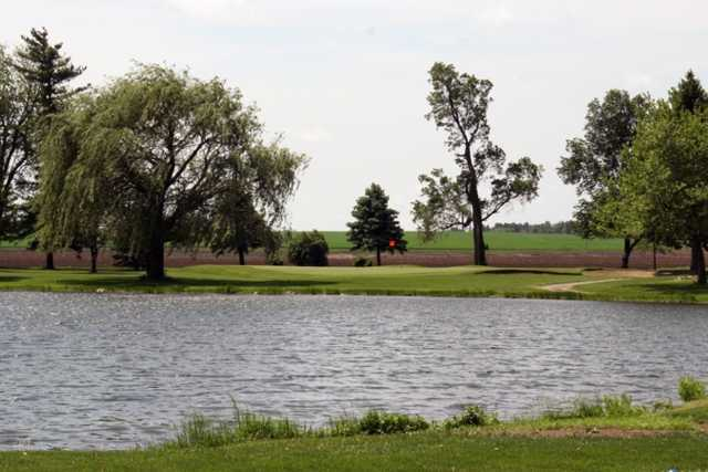 A view over the water from Benton County Country Club