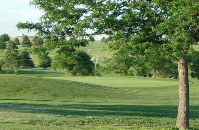 A view of a green at Mariah Hills