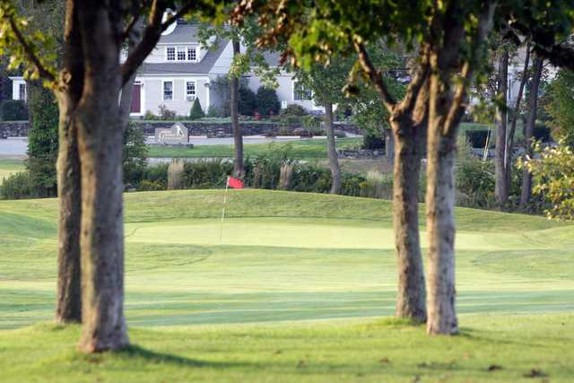 A view of a green at Gardner Golf Course