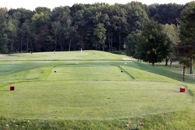 A view from a tee at Gardner Golf Course