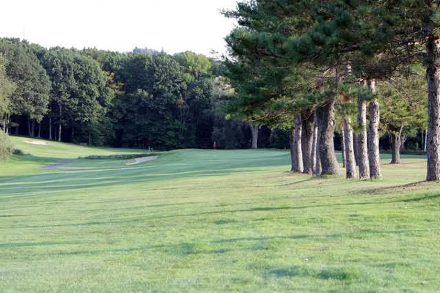 A view from a fairway at Gardner Golf Course