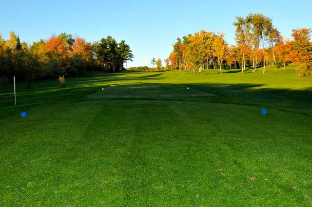 A view from a tee at Island Green Golf Center from Traditions Golf Club