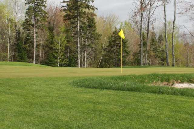 A view of hole #7 at Island Green Golf Center from Traditions Golf Club
