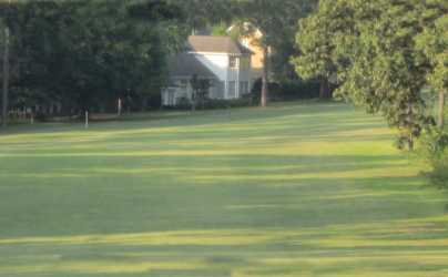 A view of a fairway at Lake Forest Yacht & Country Club