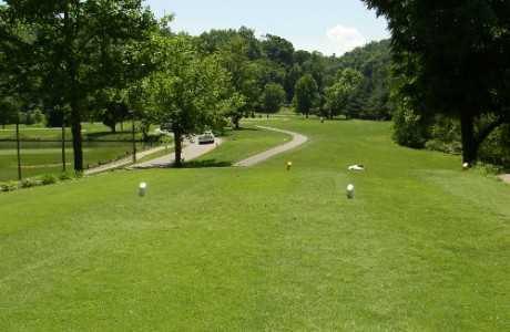 A view from tee #10 at Riverside Golf Course