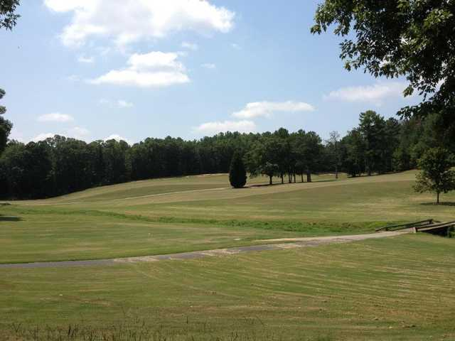 A view from Griffin City Golf Course