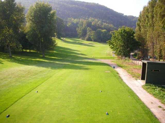 A view from a tee at Abergele Golf Club