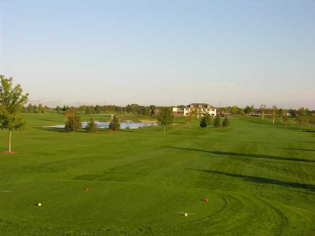 A view from a tee at Emerald Greens Golf Club