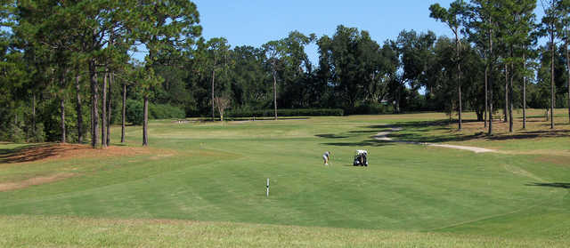 A view of a fairway at Cypress Lakes Golf Club