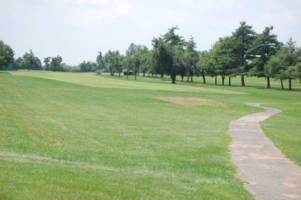 A view of the 12th fairway at LaRue County Country Club