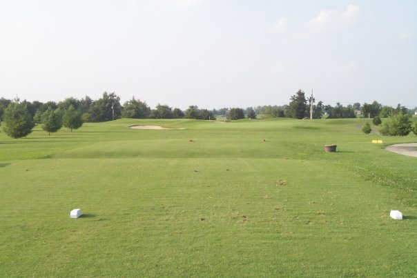 A view from a tee at LaRue County Country Club