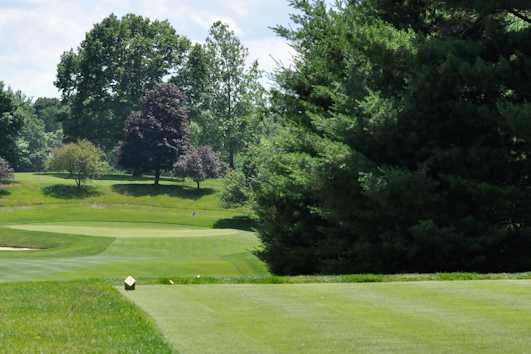 A view from a tee at Country Club of Farmington