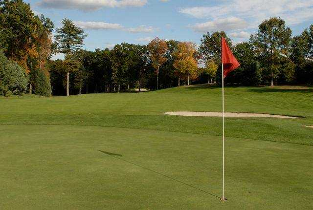 A view of the 13th hole at Topstone Golf Course