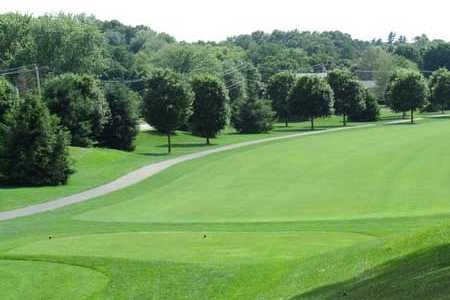 A view from tee #2 at Topstone Golf Course