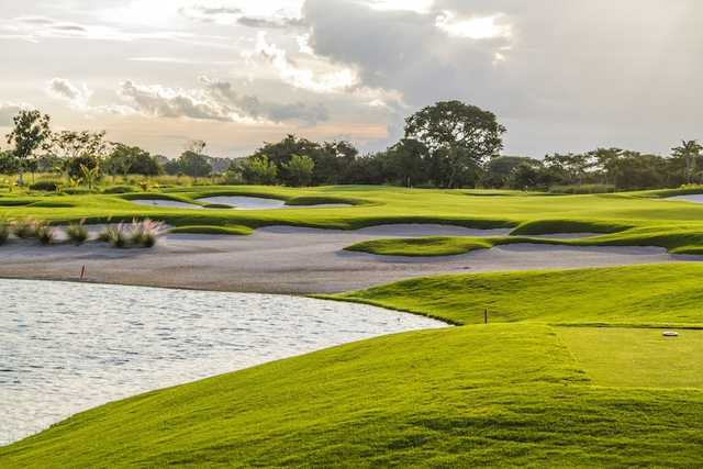 A view from a tee at Buenaventura Golf Club