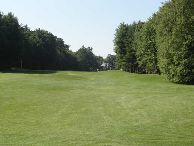 A view from the 14th fairway at Rolling Meadows Country Club