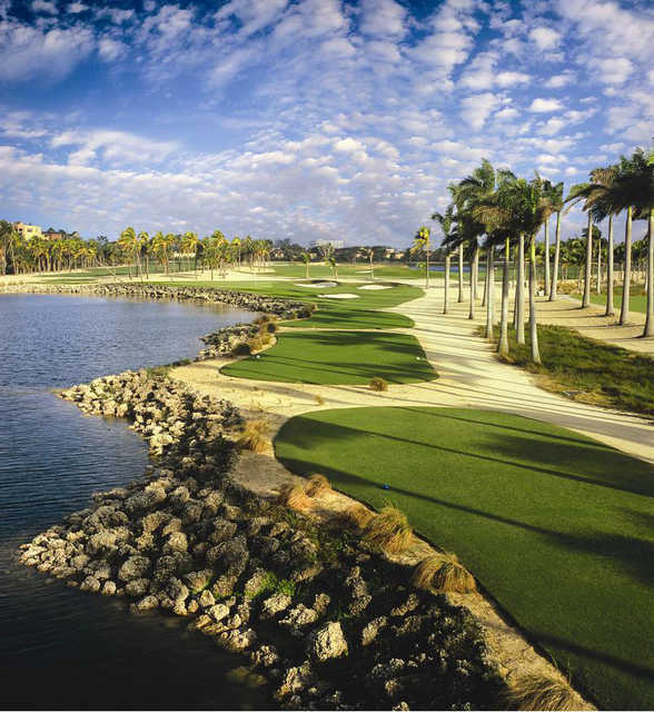 View of a hole from the Great White Course at Trump National Doral Miami