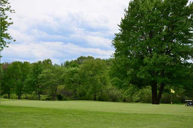 A view of hole #11 at St. Anne Country Club