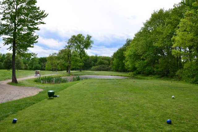 A view from the 15th tee at St. Anne Country Club