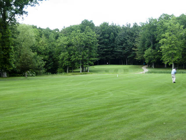 A view from a fairway at Chanticlair Golf Club
