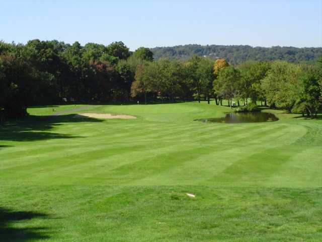 A view of the 2nd fairway at Crestbrook Park Golf Course