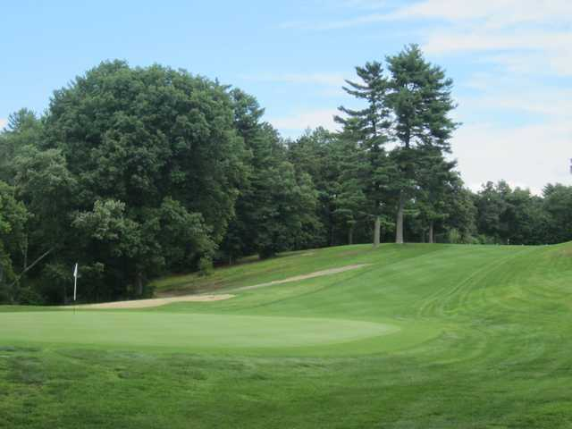A view of a hole at Chicopee Country Club