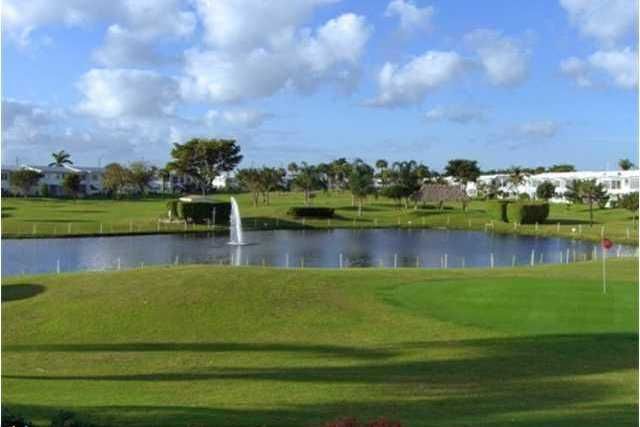 A view of a hole at Leisureville Fairway (Greater Fort Lauderdale Realtors)