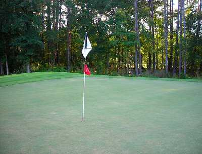A view of the 7th hole at Okatie Creek Golf Club