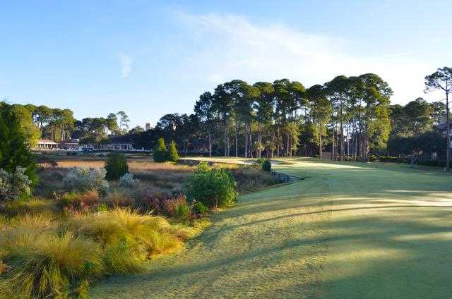 A view from a fairway at Sea Pines Country Club