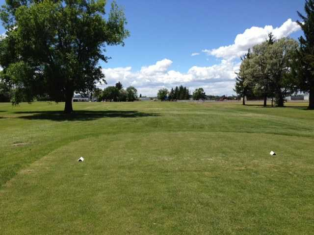 A view from a tee at Legacy Golf Course