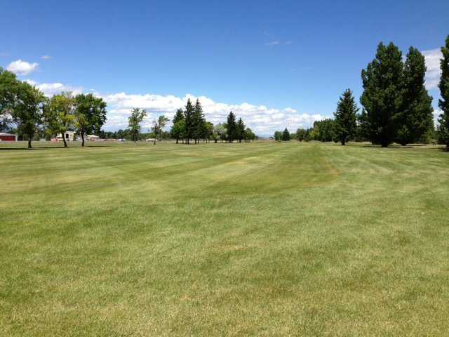 A view of a fairway at Legacy Golf Course