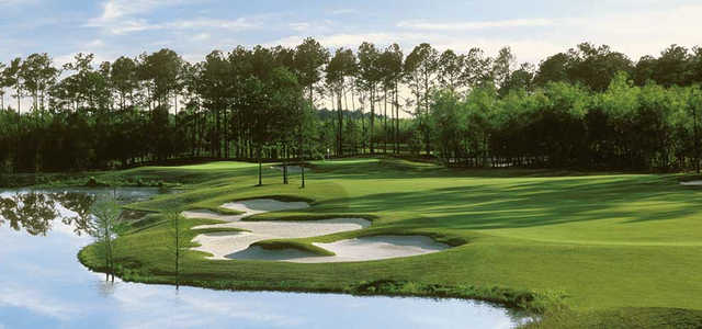 A view from Contraband Bayou Golf Club At L'Auberge Du Lac